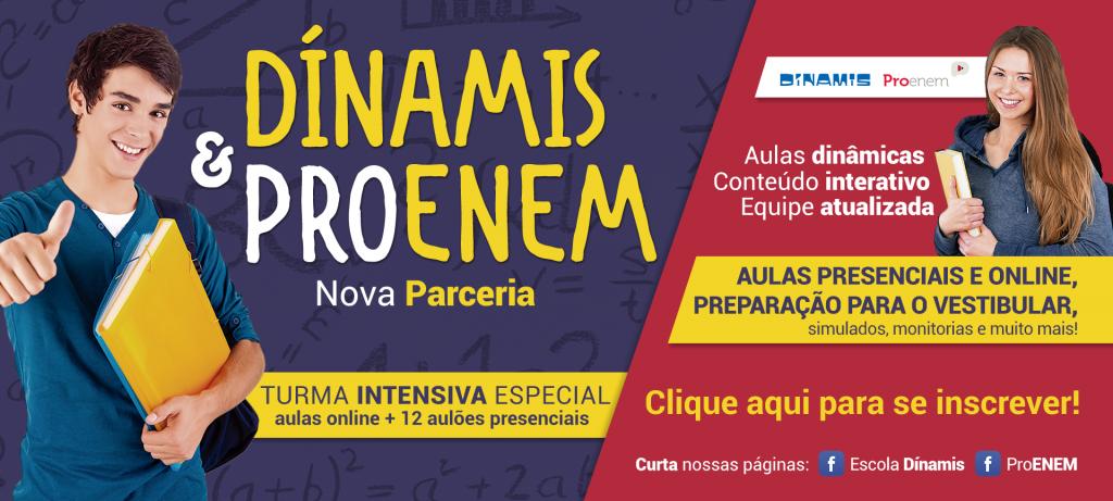 Parceria Dínamis & ProENEM